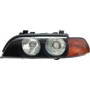 BMW 5 SERİSİ E39 SOL FAR KOMPLE (XENON) SARI 95>03 63128386557