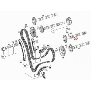 Mercedes W203 W209 W221 Sprinter Viano 320cdi 350cdi OM642 Motor Eksantrik Mili A6420502801